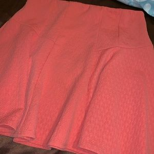 Coral short skirt size xl by brand timing